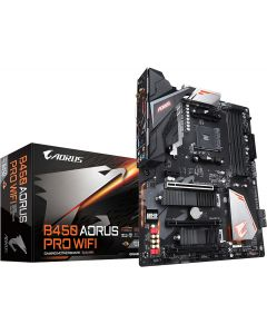 GIGABYTE B450 AORUS PRO WIFI (rev. 1.0) AM4 AMD B450 SATA 6Gb/s USB 3.1 HDM