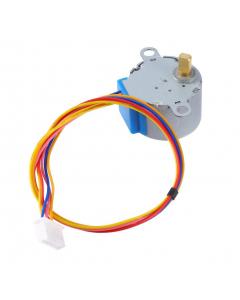 Petit moteur step pas à pas– 12VDC 32-Step 1/16 Gearing