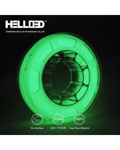 Filament Hello 3D illumine dans le noir vertr 1,75mm 1kg