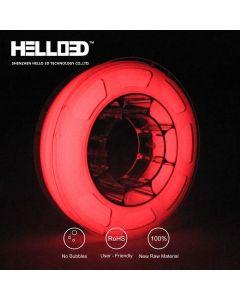 Filament Hello 3D illumine dans le noir rouge 1,75mm 1kg