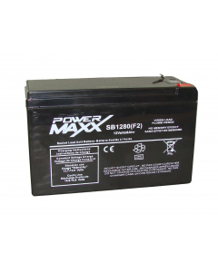 """Batterie scellée à l''acide 12V 8.0AH F2 0.250"""""""