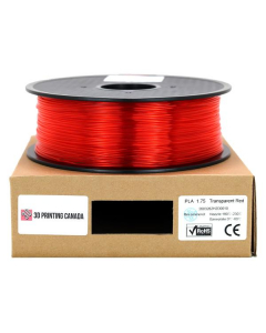 Filament Euro PLA 1,75mm 1KG Rouge transparent