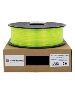 Filament Euro PLA 1,75mm 1KG Jaune Transparent
