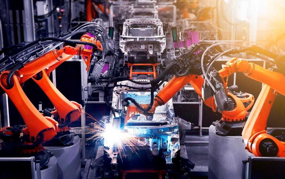 Les bras de robot