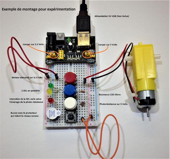 Kit de base électronique